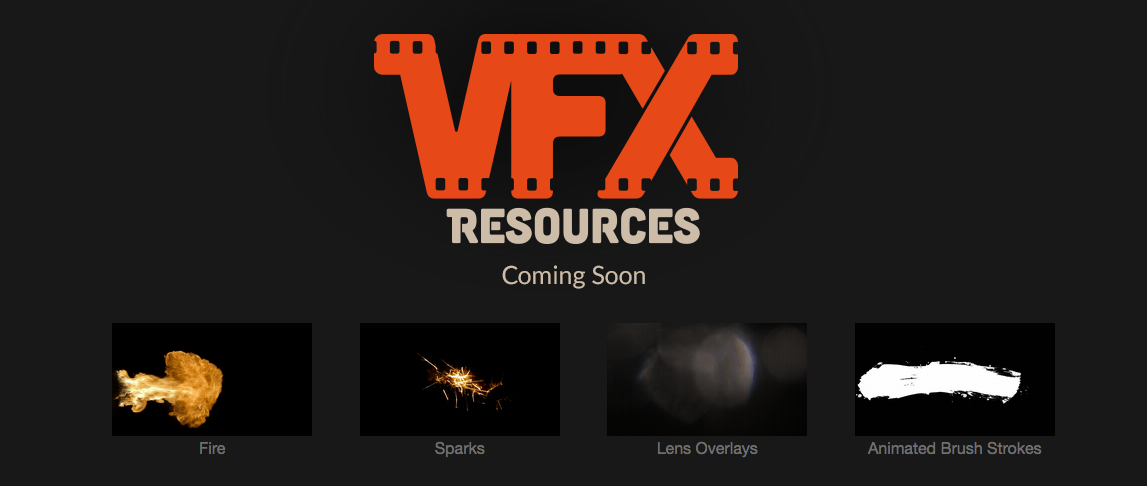 VFX Resources - Coming Soon